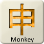 Chinese Zodiac Animal - Monkey